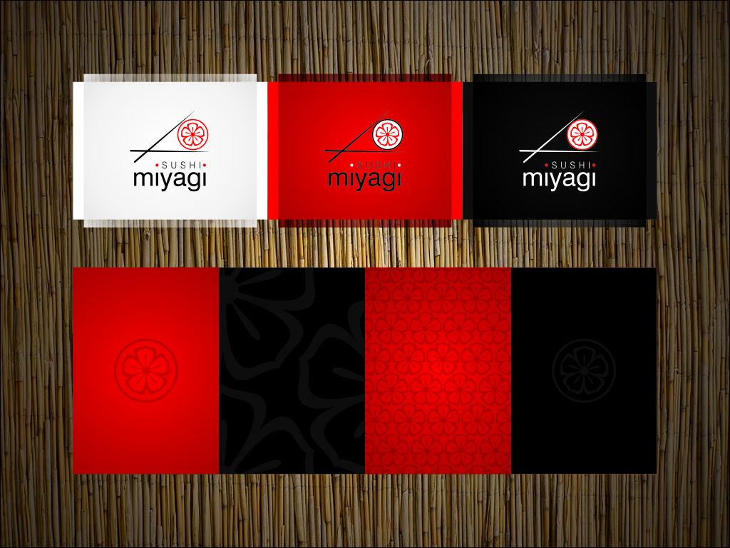 Miyagi Sushi Identidad