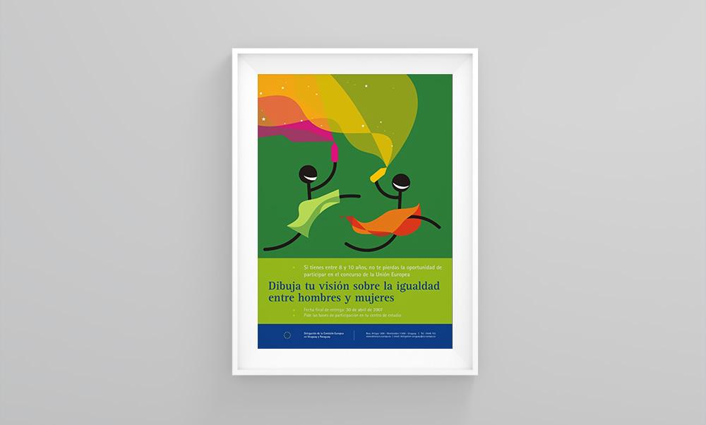 Afiche - Unión Europea