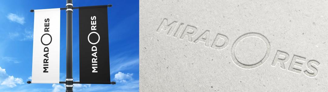 Miradores - Banners y aplicación de marca